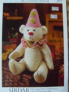 Free Knitting Pattern For Mr Bean s Teddy Bear : FREE TEDDY BEAR KNITTING PATTERNS UK - VERY SIMPLE FREE KNITTING PATTERNS