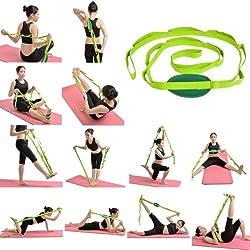 Aeoss Yoga Stretch Strap Training Belt Waist Leg Fitness Flexible