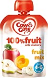Cow Gate Baby Food 4 6 Months Fruit Mix 80g Case of 6