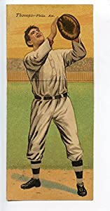 Buy 1911 T201 Mecca Double Folder Tobacco Coombs Thomas Philadelphia A's by Hollywood Collectibles