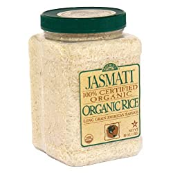 Riceselect, Rice Jasmati Jar Org, 36-Ounce (04 Pack)