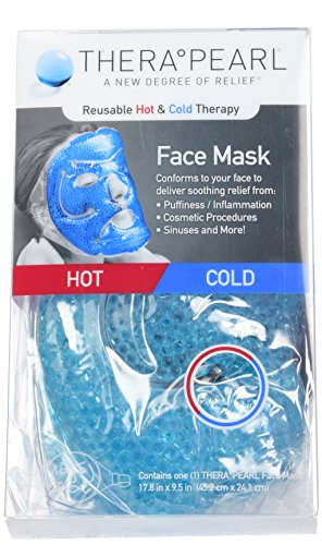 Learn More About TheraPearl Face Mask, Reusable Hot Cold Therapy Mask