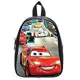 Generic Disney Cars Pull Printed School Bag Backpack PU Leather Medium
