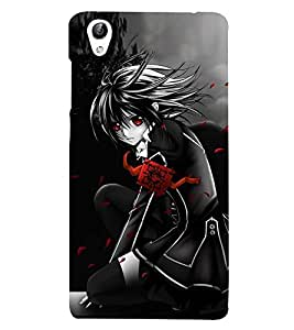 Anime Girl 3D Hard Polycarbonate Designer Back Case Cover for vivo Y51 :: Vivo Y51L