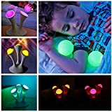 Simwood™ Portable Globe Colorful LED Balls for Baby Sleeping Bedroom Lamp Color Changing Nightlight