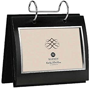 Burnes of Boston A95164 City Lights Picture Frame, Black, 6 by 4 Inches