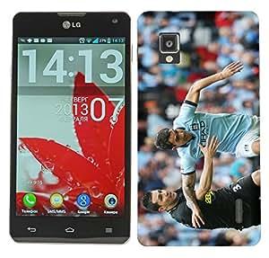 WOW Printed Designer Mobile Case Back Cover For LG Optimus G E975