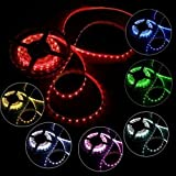 Superled 16.4ft 5m Waterproof Flexible Strip 300 Leds Color Changing RGB Smd5050 LED Light Strip Kit RGB 5m