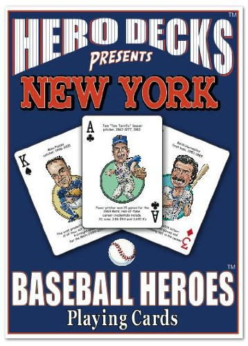 Hero Decks - New York Mets - Playing Cards