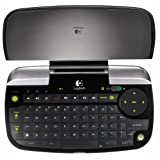 Logitech diNovo Mini clavier sans-fil ClickPad � double fonction Bluetooth -Touches r�tro�clair�es - Compatible PC/PS3 Azerty Noirpar Logitech