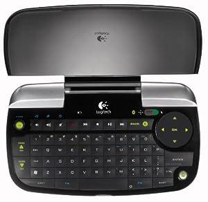 Logitech diNovo Mini Fernbedienung schnurlos Bluetooth (deutsches Tastaturlayout, QWERTZ)