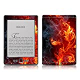 Kindle 4 skin - Flower of Fire - High quality precision engineered removable adhesive skin for the Amazon Kindle (4th generation Wi-Fi 6