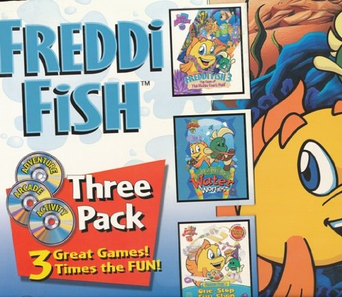HUMONGOUS Freddi Fish 3-Pack Windows MacintoshB00008NJEG : image