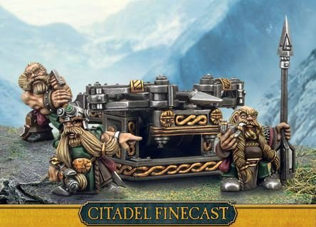 Citadel Finecast Resin: Dwarf Bolt Thrower
