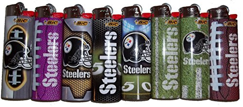 Bic Lighters Pittsburgh Steelers NFL Officially Licensed