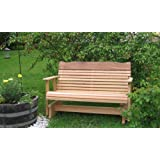 4' Cedar Porch Glider, Amish Crafted