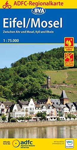 ADFC-Regionalkarte-Eifel-Mosel-mit-Tagestouren-Vorschlgen-175000-rei-und-wetterfest-GPS-Tracks-Download-Zwischen-Ahr-und-Mosel-Kyll-und-Rhein-ADFC-Regionalkarte-175000