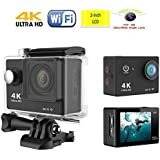 HDKing K1 4K WiFi Sports Camera 1080P 2.0 LCD HD 30m Waterproof DV Video Sport Extreme Go Pro Mini Recorder Sport...