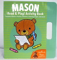 1 X Hallmark Kids KOB1073 Mason Read and Play! Activity Book by Hallmark