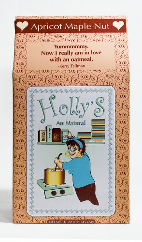 Holly's Au Natural Oatmeal, Apricot Maple Nut, 16-Ounce Boxes (Pack of 6)