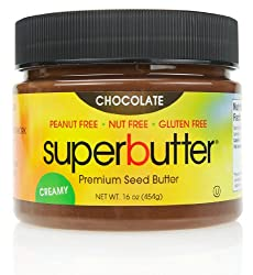 SuperButter – Premium Seed Butter Creamy Chocolate – 16 oz.