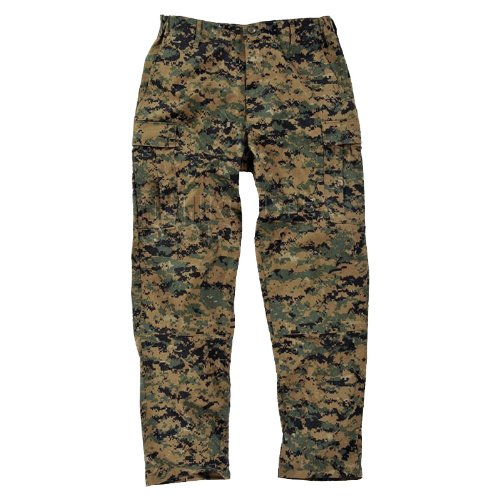 Helikon USMC US Marines Trousers Army Military Mens Pants Digital Woodland Camo