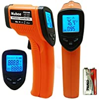 Nubee NUB-8500H Non-Contact Infrared Thermometer Digital Temperature Gun w/ Laser Sight
