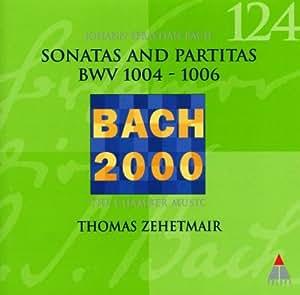 Sonatas & Partitas for Solo Violin 2: Bach 2000