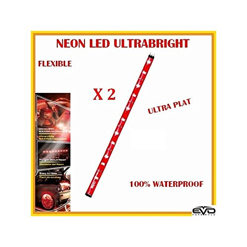 Bande LED rouge ultrabrights 20 cm