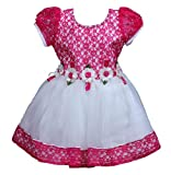 Wish Karo Baby Girls Party Wear Frock Dress Dnfr553