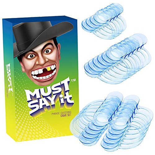 Mouth Guard Game, iRainy 20 Pcs C-Shape Whitening Intraoral Cheek Lip Retractor Mouth Opener for Speak Out Game & Watch Ya Mouth