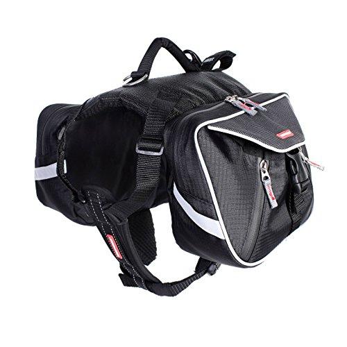 Artikelbild: EzyDog Summit Hunde-Rucksack, Größe S, schwarz