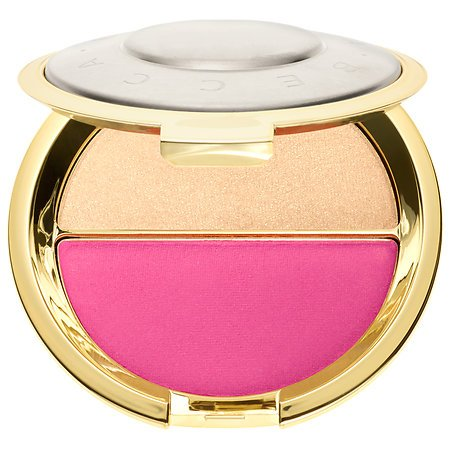 Becca x Jaclyn Hill Champagne Splits Shimmering Skin Perfector Mineral Blush Duo # Champagne Pop/Hyacinth (Mac Pink Split Eye Shadow compare prices)