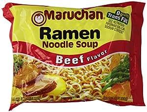 Maruchan Ramen Beef Flavor, 3 oz, 24 ct