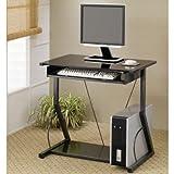 Computer Desk in Black by Coaster Furniture