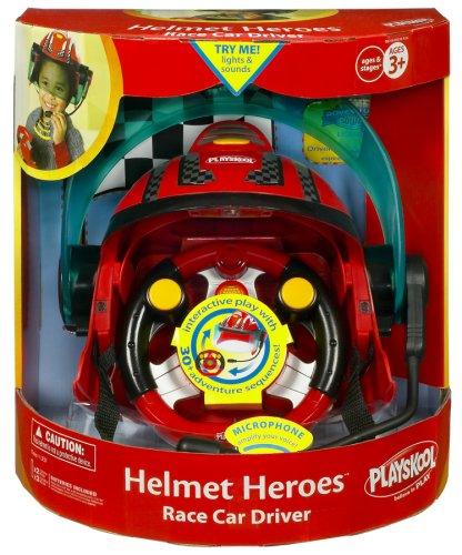Playskool Helmet Heroes Race Car Driver Instructions