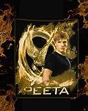 The Hunger Games Fleece blanket Peeta
