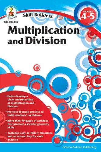 Skill Builders Mutiplication & Division, Grades 4-5 - 1