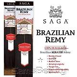 "Saga Brazilian Keratin Remy Human Hair Weave - REMY YAKY 14"""