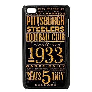 Diy Cutstomize Pittsburgh Steelers case for ipod touch 4 LIULAOSHI(TM) at Steeler Mania
