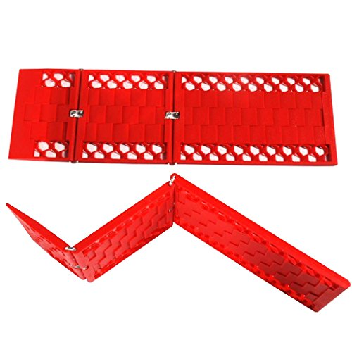 Find Discount WawaAuto Car Escaper, Foldable Traction Mat, Ideal to Unstuck Your Car From Snow, Ice,...