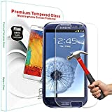PThink� 0.3mm Ultra-thin Tempered Glass Screen Protector for Samsung Galaxy S3 with 9H Hardness/Anti-scratch/Fingerprint resistant (Samsung Galaxy S3)