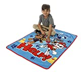 Paw Patrol Yelp for Help Toddler Blanket with Sound, Blue