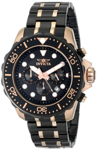Invicta Men's 15392SYB Pro Diver Analog Display Japanese Quartz Two Tone Watch
