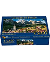 Clementoni Puzzle 38007 - Sellagruppe - Dolomiti -  13200 pezzi High Quality Collection