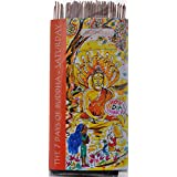 Mereville Trust Natural Herbs Buddha's Incense Stick Saturday Incense Sticks (100 Sticks, Brown)