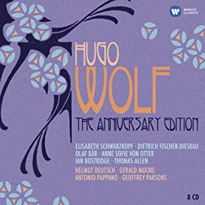 Hugo Wolf : The Anniversary Edition (Coffret 8 CD)