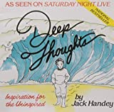 img - for Deep Thoughts by Jack Handey (1992-06-01) book / textbook / text book