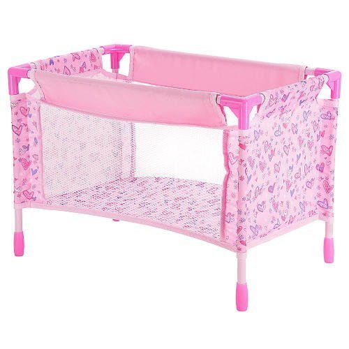 You Me Doll Playard Multicolored Paisley Butterfly Print by Toys R Us