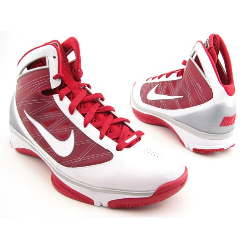 NIKE Hyperize Basketball Shoes Red Womens SZ